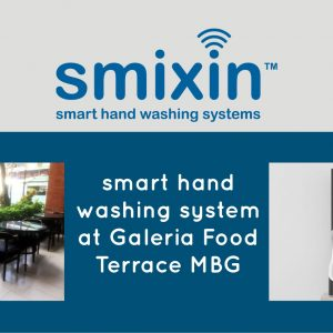 First and Only, The Automatic Hand Cleaner by SMIXIN
