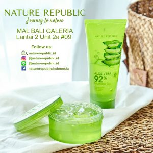 Now Open Nature Republic at Mal Bali Galeria