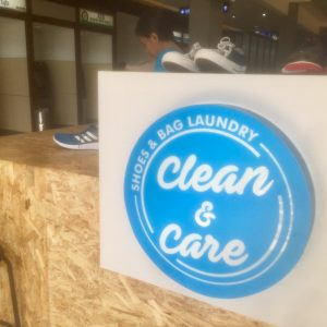 Now Open Clean and Care Shoes Laundry at MBG