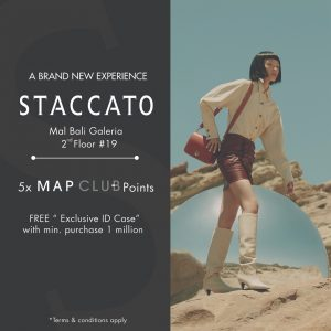 Re-Opening Staccato at Mal Bali Galeria